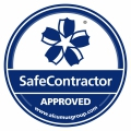 Seal Colour Safe Contractor Sticker